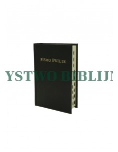 Biblia Warszawska, mała, oprawa twarda, wycięcia (indeks ksiąg)