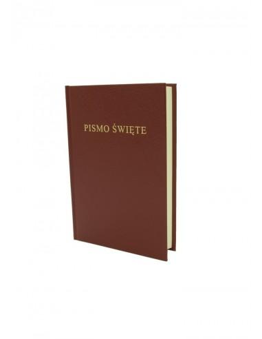 Biblia Warszawska, średnia, oprawa...
