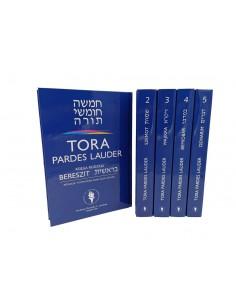 TORA PARDES LAUDER - komplet, tomy I-V + gratis 2 książki