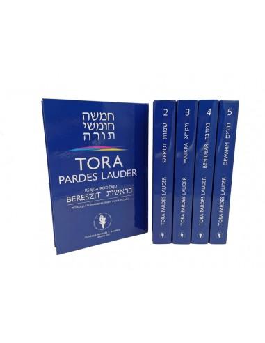 TORA PARDES LAUDER - komplet, tomy...