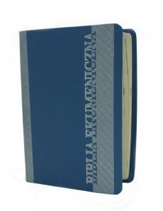 Biblia Ekumeniczna z księgami deuterokanonicznymi, oprawa miękka, srebrzenia