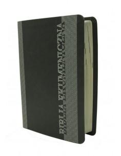Biblia Ekumeniczna bez ksiąg deuterokanonicznych, oprawa miękka, srebrzenia